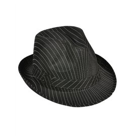 Rinco Striped Fedora Hat (/343)