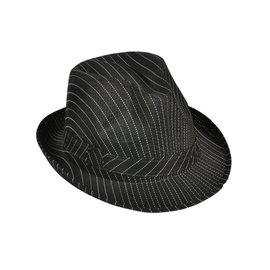 Rinco Striped Fedora Hat (/343)