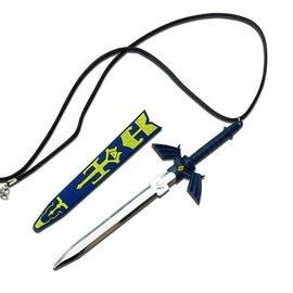 China Hyrule Warrior Zelda Master Sword Necklace (M1)
