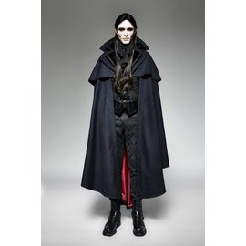 Punk Rave Gothic Vampire Count Cape - Large