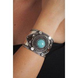 Western Fashion Inc Metal Cuff - Antique Silver