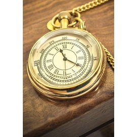 Western Fashion Inc Pocket Watch, Clear Face - Gold