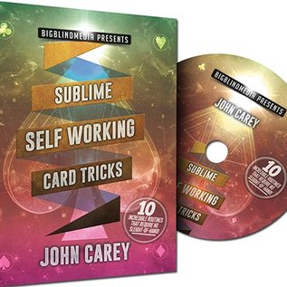 Big Blind DVD  - Sublime Self Working Card Tricks by John Carey