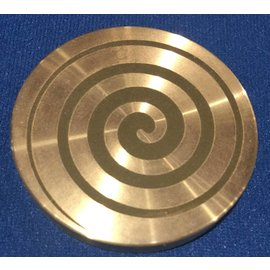 Ronjo Swirl Okito Box Spinner Lid, Silver Dollar -  Laser Etched by Ronjo - Coin