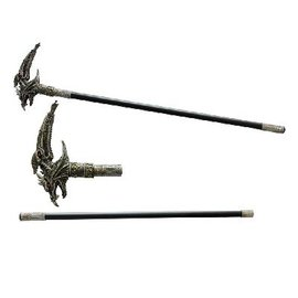 China Walking Cane Dragon 33 3/4""