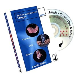 International Magic DVD - Counts,Cuts & Moves by David Jones