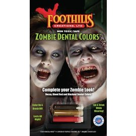Foot Hills Creations Zombie Dental Colors™ and Nail Polish