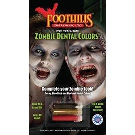 Foot Hills Creations Zombie Dental Colors™ and Nail Polish