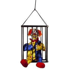 Kids Of America Corp Animated Caged Clown - 10.5""