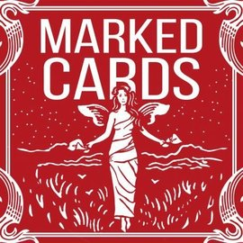 United States Playing Card Company Marked Cards - Red Bicycle Maiden Back by Penguin Magic