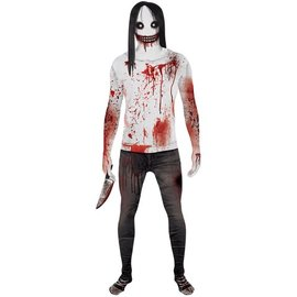 morphsuits Jeff The Killer Morphsuit Large