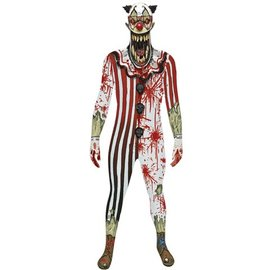 morphsuits Zombie Clown Jaw Dropper Morphsuit XL