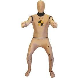 morphsuits Crash Test Dummy Adult Morphsuit Large