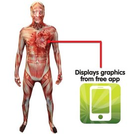 morphsuits Beating Heart Muscle Adult Morphsuit X-Large