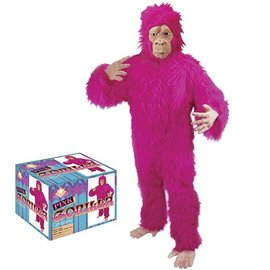 Loftus International Pink Gorilla Costume Adult One Size