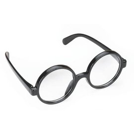 Loftus International Black Frame Round Glasses
