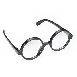Loftus International Black Frame Round Glasses