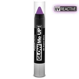 PaintGlow Violet Neon Uv Paint Stick 3.5G