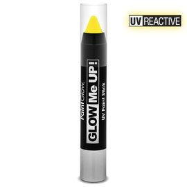 PaintGlow Yellow Neon Uv Paint Stick 3.5G