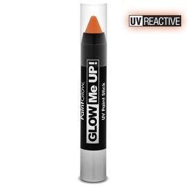 PaintGlow Orange Neon Uv Paint Stick 3.5G