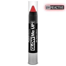 PaintGlow Red Neon Uv Paint Stick 3.5G