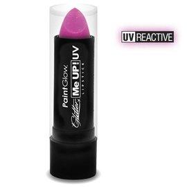 PaintGlow Candy Pink Neon Uv Glitter Lipstick 5G