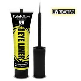 PaintGlow Yellow Neon Uv Eye Liner 15Ml