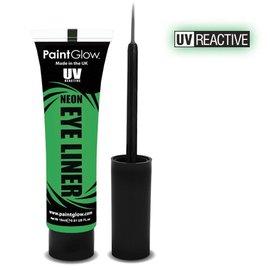 PaintGlow Green Neon Uv Eye Liner 15Ml