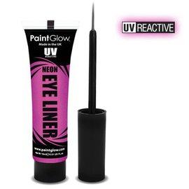 PaintGlow Pink Neon Uv Eye Liner 15Ml