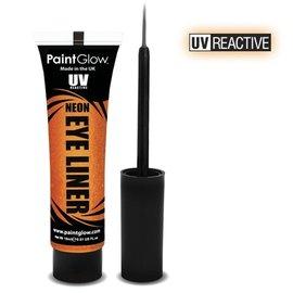 PaintGlow Orange Neon Uv Eye Liner 15Ml