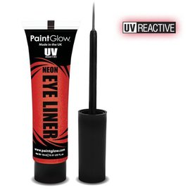 PaintGlow Red Neon Uv Eye Liner 15Ml