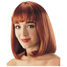 Costume Culture by Franco American Peggy Sue Wig - Natural Red
