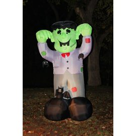 Giant Airblown Inflatable Frankenstein - 8 feet