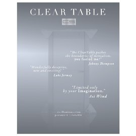 CS Illusion Clear Table by CS Illusion
