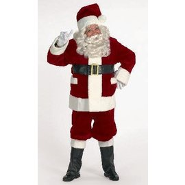 Halco Rich Burgundy Santa Suit With Outter Pockets 42-48