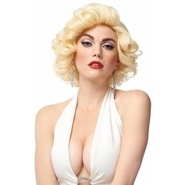 Costume Culture by Franco American Deluxe Blonde Bomshell Wig