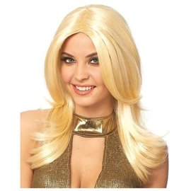 Costume Culture by Franco American 70's Style Wig - Blonde