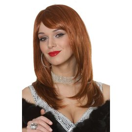 Costume Culture by Franco American Sharon Wig - Natural Red