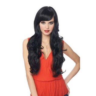 Costume Culture by Franco American Delovely Wig - Black