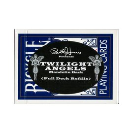 Paul Harris Presents Twilight Angels Full Deck Refill, Blue Mandolin by Paul Harris (M10)
