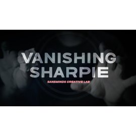 SansMinds Creative Lab Vanishing Sharpie (DVD and Gimmicks) by SansMinds Creative Lab