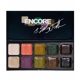 European Body Art Encore Autopsy Alcohol Palette by Bruce Fuller