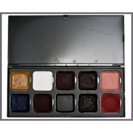 European Body Art Encore Injury Alcohol Palette