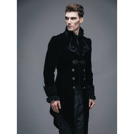 Devil Fashion Vintage Gothic Swallowtail Jacket - XL