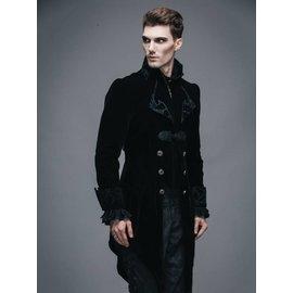 Devil Fashion Vintage Gothic Swallowtail Jacket - XL