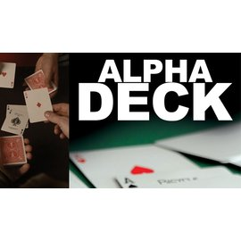 Sanders F/X Alpha Deck (Cards and Online Instructions) by Richard Sanders