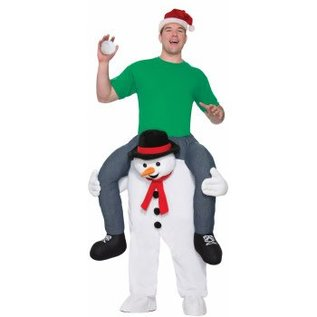 Forum Novelties Cold Shoulders Riding Snowman