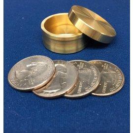 Ronjo Okito Box Slot Quarter 4 Coin, Beveled - By Ronjo