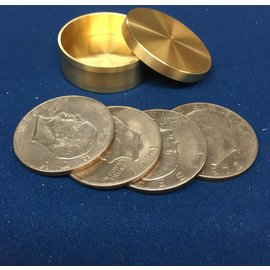 Ronjo Okito Box Slot Silver Dollar 4 Coin, Beveled - By Ronjo