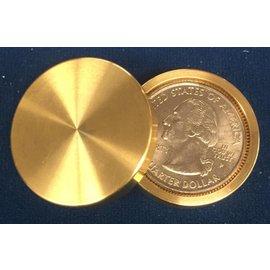 Ronjo Okito Box Double Boston Quarter Sleek 1 Coin by Gary Brown